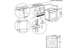 Духовой шкаф ZANUSSI OPZB4334X нержавеющая сталь