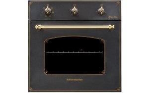 Духовой шкаф ELECTRONICSDELUXE 6006.03 эшв - 008 черный матовый