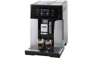 Кофемашина DELONGHI Perfecta Deluxe ESAM460.80.MB серебристый/черный