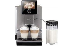 Кофемашина NIVONA CafeRomatica NICR 970 титановый/черный