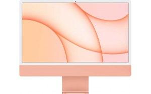 """Моноблок APPLE iMac Z132000BV 24""""/Apple/16ГБ/256ГБ SSD/Apple/macOS/оранжевый"""