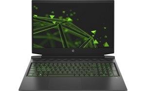 "Ноутбук HP Pavilion Gaming 16-a0028ur 16.1""/IPS/Intel Core i5 10300H 2.5ГГц/8ГБ/256ГБ SSD/NVIDIA GeForce GTX 1650 - 4096 Мб/Free DOS 3.0/24A97EA/черный/зеленый"
