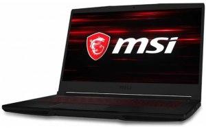 "Ноутбук MSI GF63 Thin 9SCXR-458RU 15.6""/IPS/Intel Core i5 9300H 2.4ГГц/8ГБ/512ГБ SSD/NVIDIA GeForce GTX 1650 MAX Q - 4096 Мб/Windows 10/9S7-16R412-458/черный"