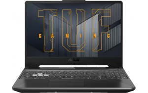 "Ноутбук ASUS TUF Gaming FX506HEB-HN155T 15.6""/IPS/Intel Core i5 11400H 2.7ГГц/8ГБ/512ГБ SSD/NVIDIA GeForce RTX 3050 Ti для ноутбуков - 4096 Мб/Windows 10/90NR0703-M05780/серый"