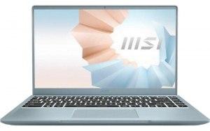 """Ноутбук MSI Modern 14 B11SB-413RU 14""""/IPS/Intel Core i5 1135G7 2.4ГГц/16ГБ/512ГБ SSD/NVIDIA GeForce MX450 - 2048 Мб/Windows 10/9S7-14D212-413/голубой"""