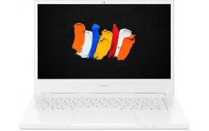 Ноутбук ACER ConceptD 3 CN314-72-74KE 14/IPS/Intel Core i7 10750H 2.6ГГц/16ГБ/512ГБ SSD/Intel UHD Graphics /Windows 10 Professional/NX.C5SER.003/белый