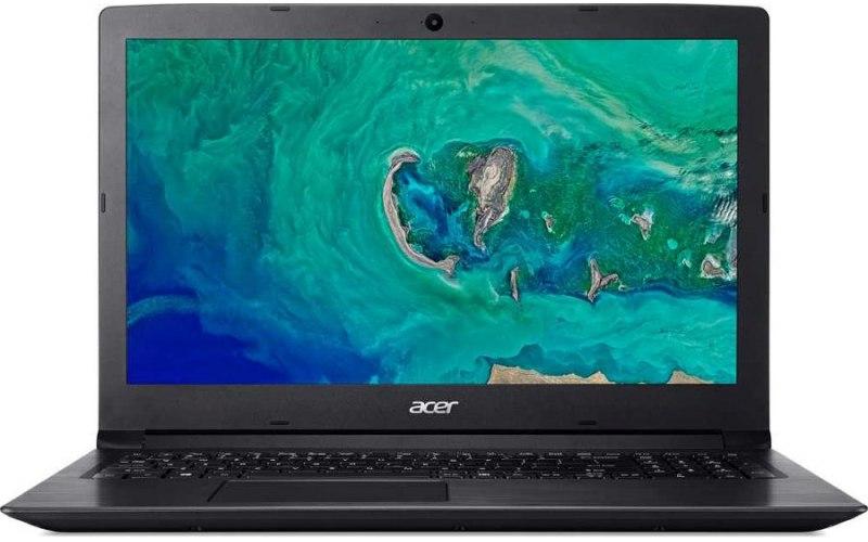 """Ноутбук ACER Aspire A315-53-37PA 15.6"""" Intel Core i3 7020U 2.3ГГц/4Гб/1000Гб/Intel HD Graphics 620/Windows 10/NX.H9KER.015/черный"""