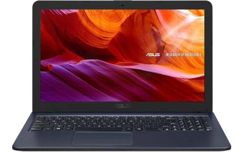 "Ноутбук ASUS VivoBook X543UB-DM1170 15.6""/Intel Core i3 7020U 2.3ГГц/4Гб/500Гб/nVidia GeForce Mx110 2048 Мб/DVD-RW/Endless/90NB0IM7-M16570/серый"