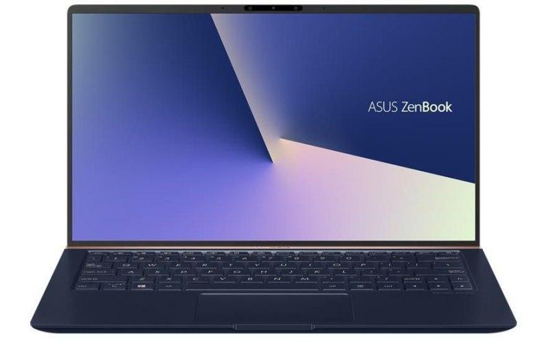 """Ноутбук ASUS Zenbook UX333FA-A3071T 13.3""""/Intel Core i5 8265U 1.6ГГц/8Гб/256Гб SSD/Intel UHD Graphics 620/Windows 10/90NB0JV1-M04050/темно-синий"""