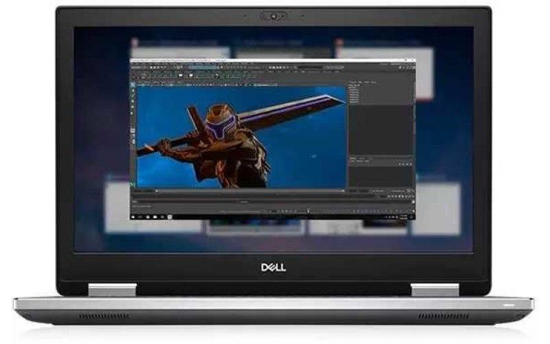 """Ноутбук DELL Precision 7540 15.6""""/IPS/Intel Core i7 9850H 2.6ГГц/16Гб/512Гб SSD/nVidia Quadro T1000 4096 Мб/Windows 10 Professional/7540-5222/черный"""