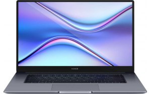 "Ультрабук HONOR MagicBook X15 15.6""/IPS/Intel Core i3 10110U 2.1ГГц/8ГБ/256ГБ SSD/Intel UHD Graphics /Windows 10 Home/53011UGC/серый"
