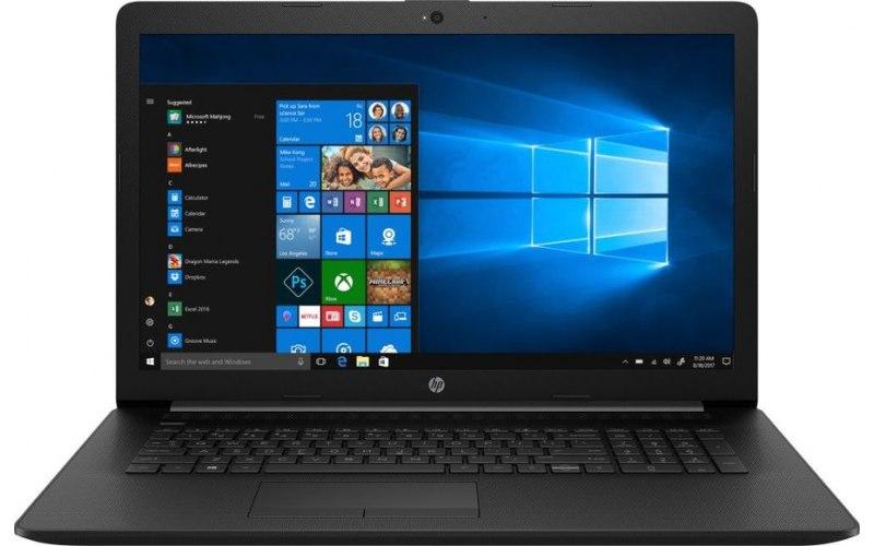 """Ноутбук HP 17-ca0143ur 17.3""""/AMD A4 9125 2.3ГГц/4Гб/500Гб/AMD Radeon R3/DVD-RW/Windows 10/7GW76EA/черный"""