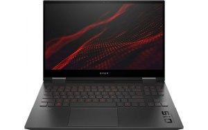 """Ноутбук HP Omen 15-ek0050ur 15.6""""/IPS/Intel Core i7 10750H 2.6ГГц/16ГБ/512ГБ SSD/NVIDIA GeForce RTX 2060 - 6144 Мб/Free DOS/2X0V6EA/черный"""