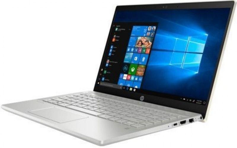 """Ноутбук HP 14-ce2009ur 14""""/IPS/Intel Core i5 8265U 1.6ГГц/8Гб/256Гб SSD/nVidia GeForce Mx130 2048 Мб/Windows 10/6PR64EA/золотистый"""