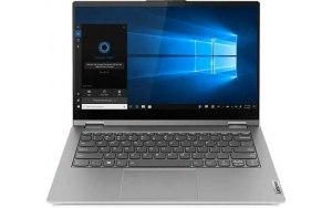 "Ноутбук-трансформер LENOVO Thinkbook 14s Yoga ITL 14""/IPS/Intel Core i5 1135G7 2.4ГГц/16ГБ/512ГБ SSD/Intel Iris Xe graphics /Windows 10 Professional/20WE0000RU/серый"
