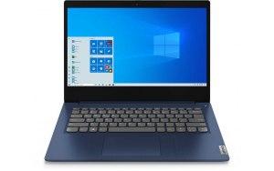 "Ноутбук LENOVO IdeaPad 3 14IIL05 14""/Intel Core i3 1005G1 1.2ГГц/4ГБ/128ГБ SSD/Intel UHD Graphics /Windows 10/81WD0102RU/синий"