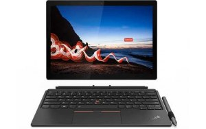 "Ноутбук LENOVO ThinkPad X12 Detachable G1 T 12.3""/IPS/Intel Core i5 1130G7 1.8ГГц/8ГБ/256ГБ SSD/Intel Iris Xe graphics /Windows 10 Professional/20UW0004RT/черный"