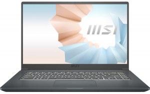 """Ноутбук MSI Modern 15 A11SBU-476RU 15.6""""/IPS/Intel Core i7 1165G7 8ГБ/512ГБ SSD/NVIDIA GeForce MX450 - 2048 Мб/Windows 10/9S7-155266-476/темно-серый"""