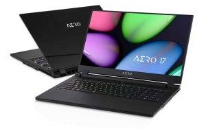 Ноутбук GIGABYTE Aero 17 WB-7RU1130SH 17.3/IPS/Intel Core i7 10750H 2.6ГГц/16ГБ/512ГБ SSD/NVIDIA GeForce RTX 2070 MQ - 8192 Мб/Windows 10/9RP77WB8BG8S1RU0000/черный