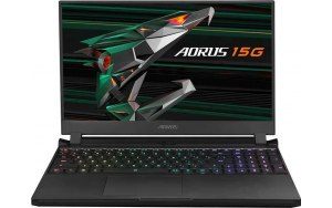 "Ноутбук GIGABYTE Aorus 15G YC-8RU2450SH 15.6""/IPS/Intel Core i7 10870H 2.2ГГц/32ГБ/1ТБ SSD/NVIDIA GeForce RTX 3080 для ноутбуков - 8192 Мб/Windows 10/YC-8RU2450SH/черный"