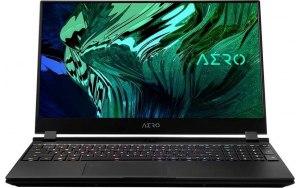 """Ноутбук GIGABYTE Aero 15 OLED KD-72RU624SP 15.6""""/AMOLED/Intel Core i7 11800H 2.3ГГц/16ГБ/1ТБ SSD/NVIDIA GeForce RTX 3060 для ноутбуков - 6144 Мб/Windows 10 Professional/KD-72RU624SP/чер"""