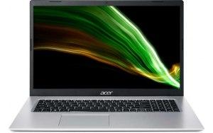 "Ноутбук ACER Aspire 3 A317-53-32QZ 17.3""/Intel Core i3 1115G4 3.0ГГц/4ГБ/256ГБ SSD/Intel UHD Graphics /Eshell/NX.AD0ER.005/серебристый"