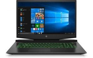 "Ноутбук HP Pavilion Gaming 17-cd2031ur 17.3""/IPS/Intel Core i5 11300H 3.1ГГц/16ГБ/512ГБ SSD/NVIDIA GeForce RTX 3050 для ноутбуков - 4096 Мб/Windows 10/4L621EA/черный/зеленый"