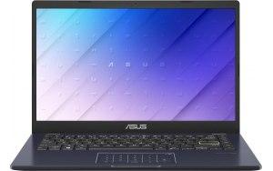 """Ноутбук ASUS E410MA-EK1327T 14""""/Intel Celeron N4020 1.1ГГц/4ГБ/128ГБ eMMC/Intel UHD Graphics 600/Windows 10/90NB0Q15-M36210/черный"""