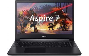 "Ноутбук ACER Aspire 7 A715-41G-R7VF 15.6""/AMD Ryzen 5 3550H 2.1ГГц/8Гб/256Гб SSD/nVidia GeForce GTX 1650 - 4096 Мб/Windows 10/NH.Q8LER.008/черный"