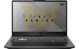 "Ноутбук ASUS TUF Gaming FX706HE-HX026T 17.3""/IPS/Intel Core i5 11400H 2.7ГГц/8ГБ/512ГБ SSD/NVIDIA GeForce RTX 3050 Ti для ноутбуков - 4096 Мб/Windows 10/90NR0713-M01120/серый"