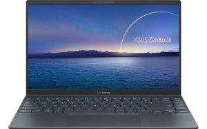"""Ноутбук ASUS Zenbook UX425EA-KI566T 14""""/IPS/Intel Core i7 1165G7 2.8ГГц/32ГБ/1ТБ SSD/Intel Iris Xe graphics /Windows 10/90NB0SM1-M13090/серый"""