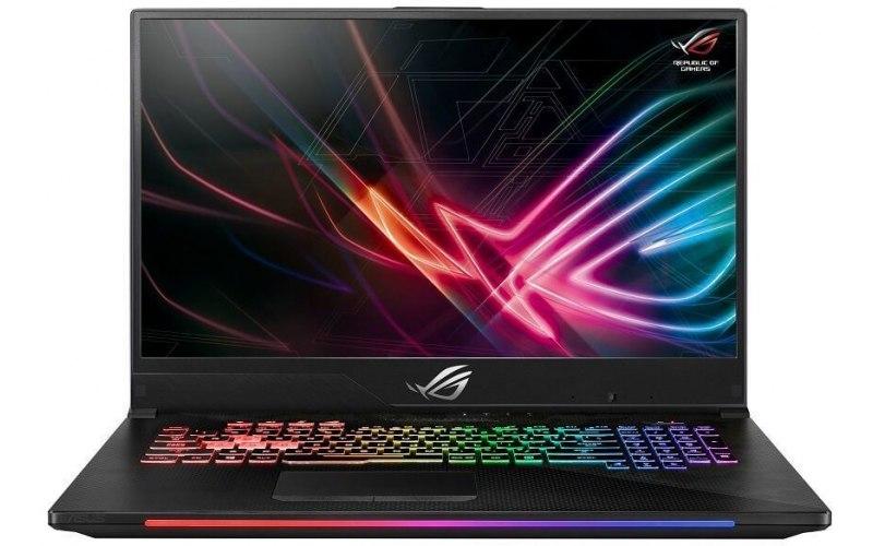 """Ноутбук ASUS ROG GL704GM-EV069T 17.3""""/IPS/Intel Core i5 8300H 2.3ГГц/8Гб/1000Гб/256Гб SSD/nVidia GeForce GTX 1060 6144 Мб/Windows 10/90NR00N1-M01360/черный"""