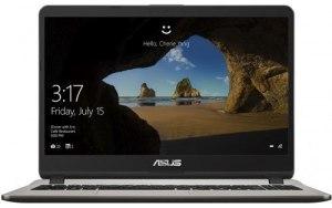 """Ноутбук ASUS VivoBook X507UF-EJ474T 15.6""""/Intel Core i3 7020U 2.3ГГц/4Гб/500Гб/nVidia GeForce Mx130 2048 Мб/Windows 10/90NB0JB1-M05940/серый"""
