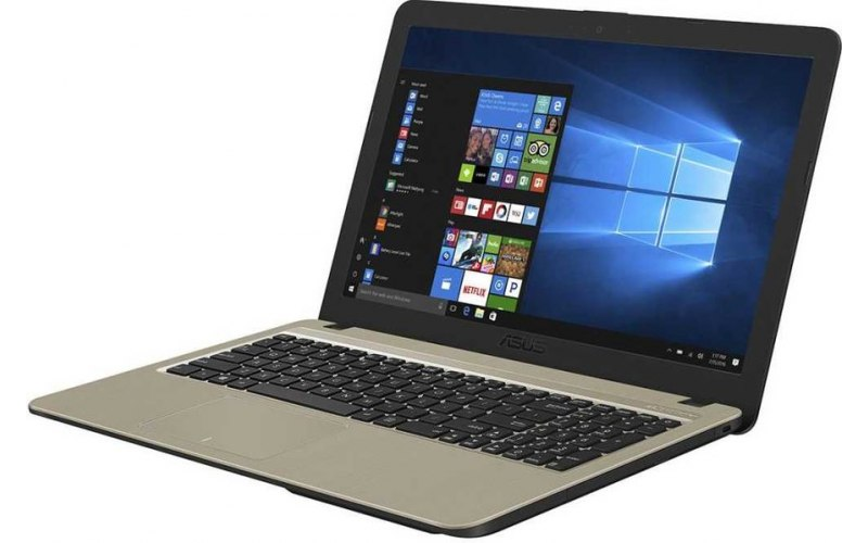 "Ноутбук ASUS VivoBook X540BP-DM118T 15.6""/AMD A9 9425 3.1ГГц/8Гб/256Гб SSD/AMD Radeon R5 M420 2048 Мб/Windows 10/90NB0IZ1-M01490/черный"