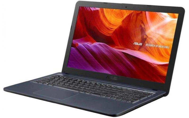 """Ноутбук ASUS VivoBook X543UB-DM1172T 15.6""""/Intel Core i3 7020U 2.3ГГц/4Гб/256Гб SSD/nVidia GeForce Mx110 2048 Мб/Windows 10/90NB0IM7-M16590/серый"""