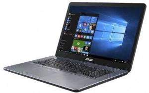 """Ноутбук ASUS VivoBook X705UB-GC227T 17.3""""/IPS/Intel Core i3 8130U 2.2ГГц/8Гб/1000Гб/nVidia GeForce Mx110 2048 Мб/Windows 10/90NB0IG2-M02540/серый"""