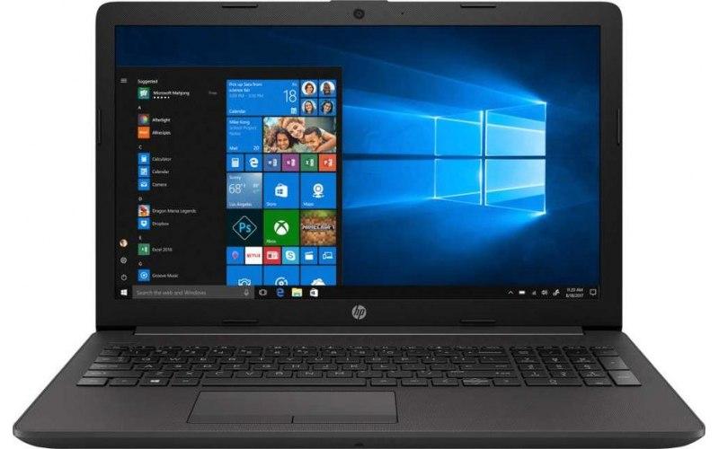 """Ноутбук HP 250 G7 15.6""""/Intel Core i3 7020U 2.3ГГц/8Гб/256Гб SSD/Intel HD Graphics 620/DVD-RW/Windows 10 Professional/6EC70EA/темно-серебристый"""