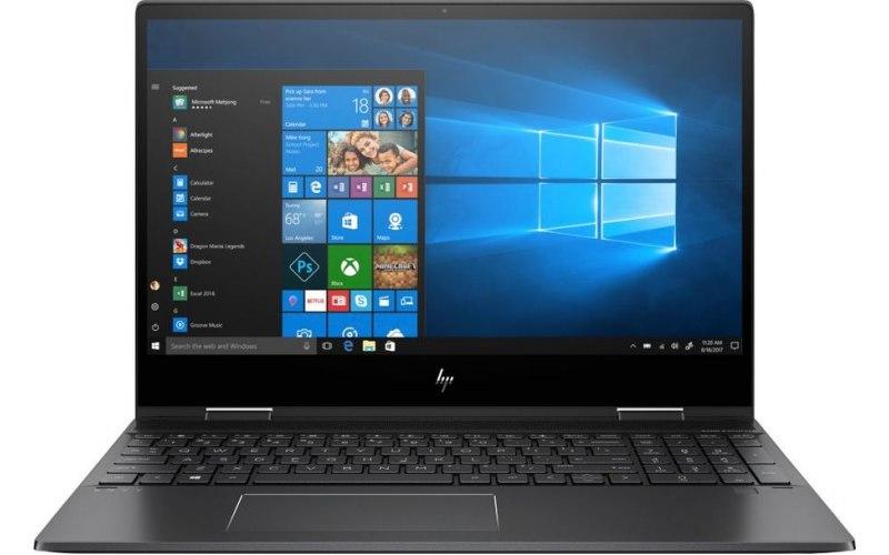 """Ноутбук-трансформер HP Envy x360 15-ds0003ur 15.6""""/IPS/AMD Ryzen 7 3700U 2.3ГГц/16Гб/512Гб SSD/AMD Radeon Rx Vega 10/Windows 10/6PS62EA/черный"""