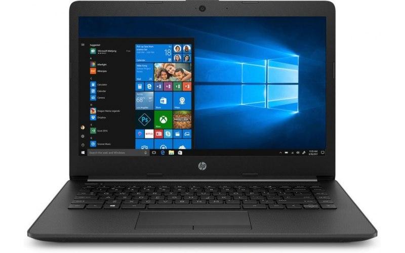 """Ноутбук HP 14-ck0105ur 14""""/Intel Core i3 7020U 2.3ГГц/4Гб/500Гб/Intel HD Graphics 620/Windows 10/7JX76EA/черный"""
