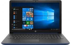 """Ноутбук HP 15-da0456ur 15.6""""/Intel Core i3 7020U 2.3ГГц/8Гб/1000Гб/128Гб SSD/nVidia GeForce Mx110 2048 Мб/Windows 10/7JY07EA/синий"""
