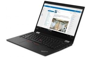"Ноутбук-трансформер LENOVO ThinkPad X390 Yoga 13.3""/IPS/Intel Core i7 8565U 1.8ГГц/8Гб/512Гб SSD/Intel UHD Graphics 620/Windows 10 Professional/20NN002LRT/черный"