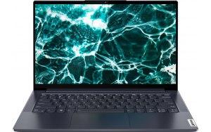 """Ноутбук-трансформер LENOVO Yoga 7 14ITL5 14""""/Intel Core i7 1165G7 2.8ГГц/16ГБ/1ТБ SSD/UMA интегрированное/Windows 10/82BH007TRU/серый"""