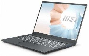"Ноутбук MSI Modern 15 A11SBL-453XRU 15.6""/IPS/Intel Core i5 1135G7 2.4ГГц/8ГБ/512ГБ SSD/NVIDIA GeForce MX450 - 2048 Мб/Free DOS/9S7-155226-453/серый"