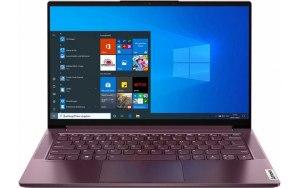 "Ноутбук LENOVO Yoga Slim7 14IIL05 14""/IPS/Intel Core i5 1035G4 1.1ГГц/16ГБ/512ГБ SSD/Intel Iris Plus graphics /Windows 10/82A10084RU/бордовый"