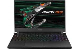 Ноутбук GIGABYTE Aorus 15G KC-8RU2130SH 15.6/IPS/Intel Core i7 10870H 2.2ГГц/16ГБ/512ГБ SSD/NVIDIA GeForce RTX 3060 для ноутбуков - 6144 Мб/Windows 10/KC-8RU2130SH/черный