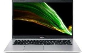 "Ноутбук ACER Aspire 3 A317-53-336R 17.3""/Intel Core i3 1115G4 3.0ГГц/4ГБ/256ГБ SSD/Intel UHD Graphics /Windows 10/NX.AD0ER.00E/серебристый"