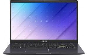 """Ноутбук ASUS E510MA-BQ578 15.6""""/Intel Pentium Silver N5030 1.1ГГц/8ГБ/256ГБ SSD/Intel UHD Graphics 605/noOS/90NB0Q65-M11800/черный"""
