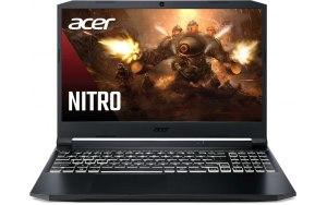"Ноутбук ACER Nitro 5 AN515-45-R9UX 15.6""/IPS/AMD Ryzen 7 5800H 3.2ГГц/8ГБ/512ГБ SSD/NVIDIA GeForce RTX 3060 для ноутбуков - 6144 Мб/Eshell/NH.QBCER.002/черный"