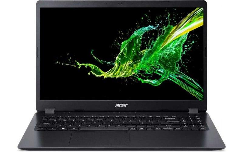 """Ноутбук ACER Aspire 3 A315-54K-30A5 15.6""""/Intel Core i3 7020U 2.3ГГц/8Гб/256Гб SSD/Intel HD Graphics 620/Linux/NX.HEEER.015/черный"""
