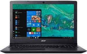 """Ноутбук ACER Aspire 3 A315-53-31N8 15.6""""/Intel Core i3 7020U 2.3ГГц/4Гб/1000Гб/128Гб SSD/Intel HD Graphics 620/Windows 10 Home/NX.H9KER.009/черный"""
